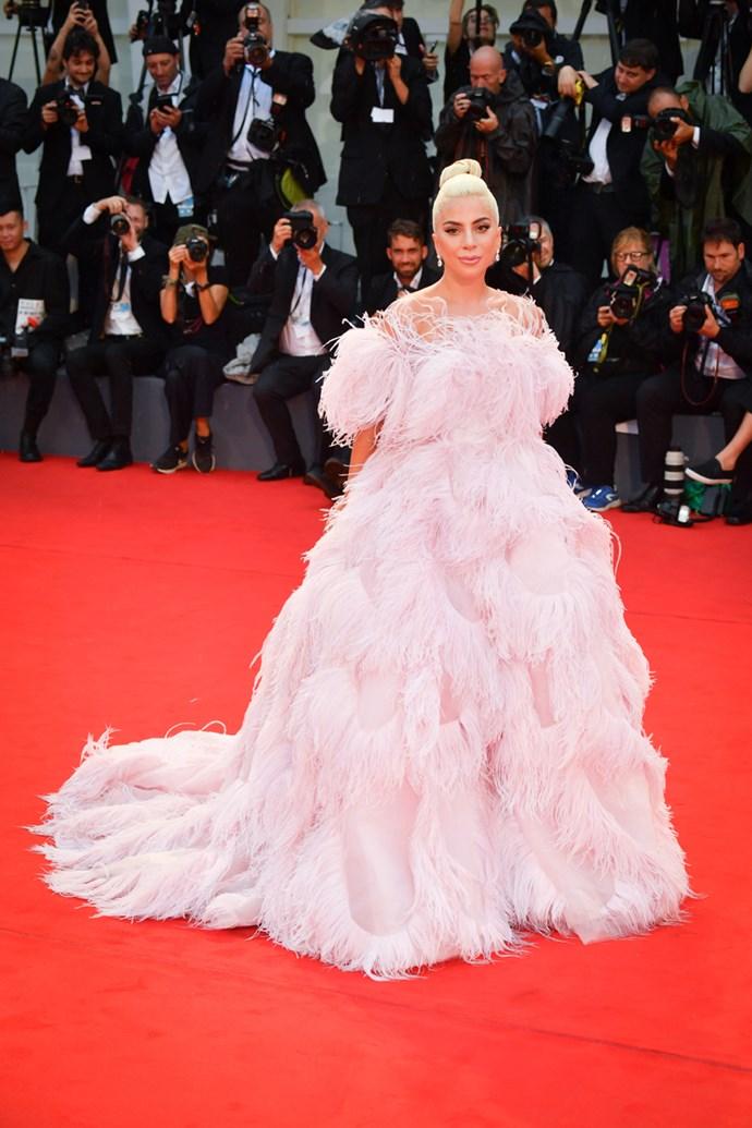 Lady Gaga in Valentino Haute Couture