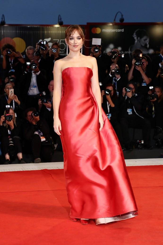 Dakota Johnson in Christian Dior Haute Couture