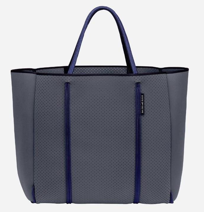 "*State Of Escape 'Cityscape' Mark II Tote, $339.00, [State Of Escape](https://www.stateofescape.com/collections/the-ultimate-escape/products/new-cityscape-mark-ii-bag-in-pewter|target=""_blank"")*"