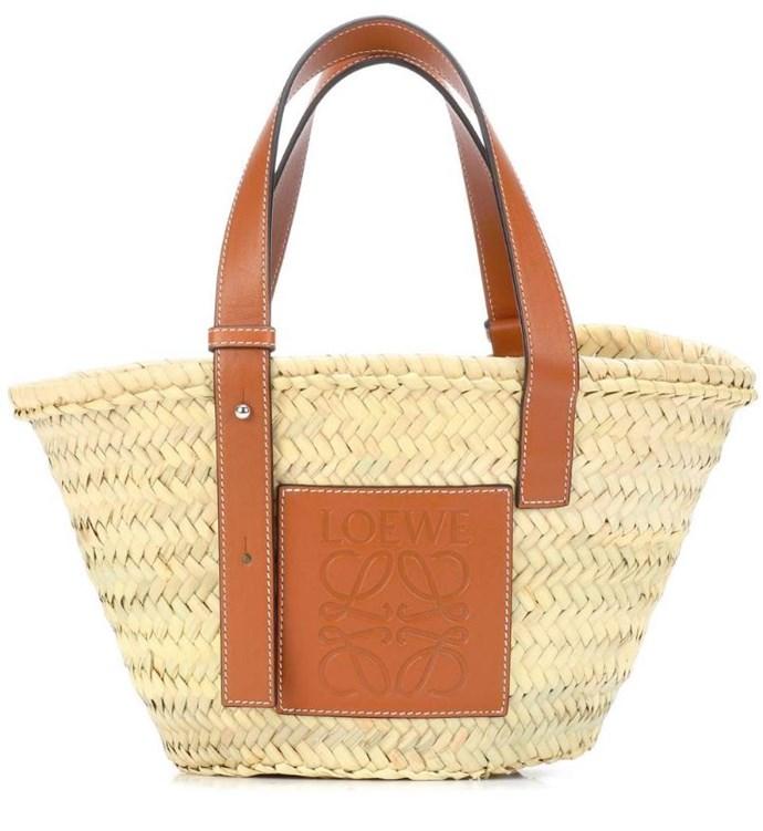 "*Loewe leather-trimmed basket tote, $445, [MyTheresa](https://www.mytheresa.com/en-au/loewe-leather-trimmed-basket-tote-960477.html?gclid=CjwKCAjwt7PcBRBbEiwAfwfVGHMuvoUGMvfixuyQoNDO0f2Yyuh0Drd-LfHo3blLBdhKog5FNP9NaRoCoJkQAvD_BwE&ef_id=W0aL3gAAA7FKITzJ:20180904052922:s|target=""_blank"")*"