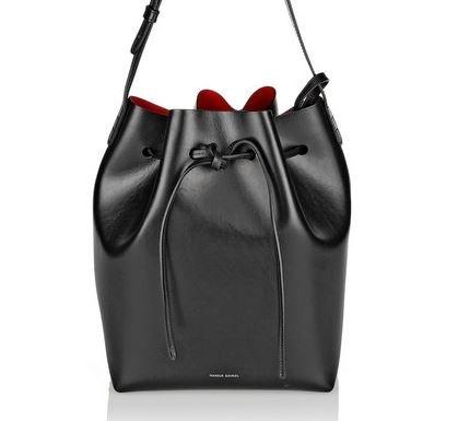 "*Mansur Gavriel leather bucket bag, $850, [Net-a-Porter](https://www.net-a-porter.com/au/en/product/470889/Mansur_Gavriel/leather-bucket-bag|target=""_blank"")*"