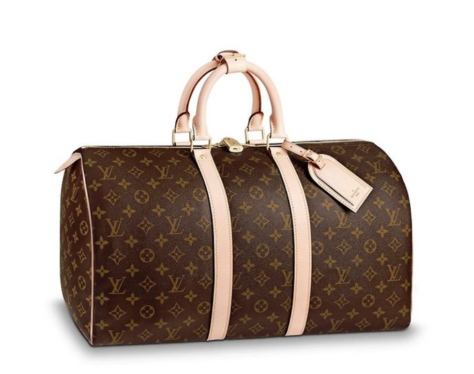 "*Louis Vuitton Keepall 45, $1,900, [Louis Vuitton](https://au.louisvuitton.com/eng-au/products/keepall-45-monogram-000687|target=""_blank"")*"