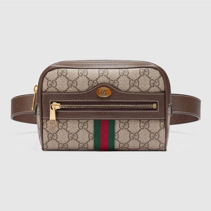 "*Gucci Ophidia GG small belt bag, $1,390, [Gucci](https://www.gucci.com/au/en_au/pr/women/handbags/belt-bags/ophidia-gg-supreme-small-belt-bag-p-51707696I3B8745?position=5&listName=SearchResultGridComponent|target=""_blank"")*"