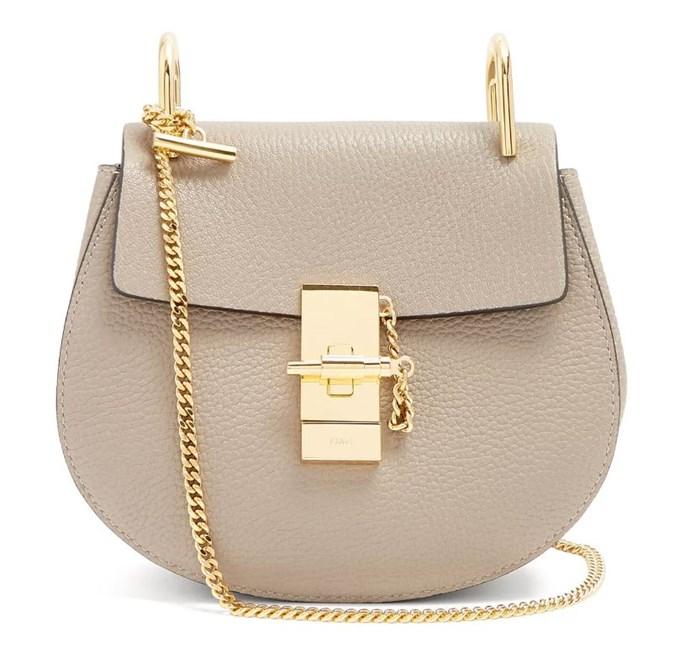 "*Chloé 'Drew' Cross-Body Bag, $1,950, [MATCHESFASHION](https://www.matchesfashion.com/au/products/Chlo%C3%A9-Drew-mini-leather-cross-body-bag-1213876|target=""_blank"")*"
