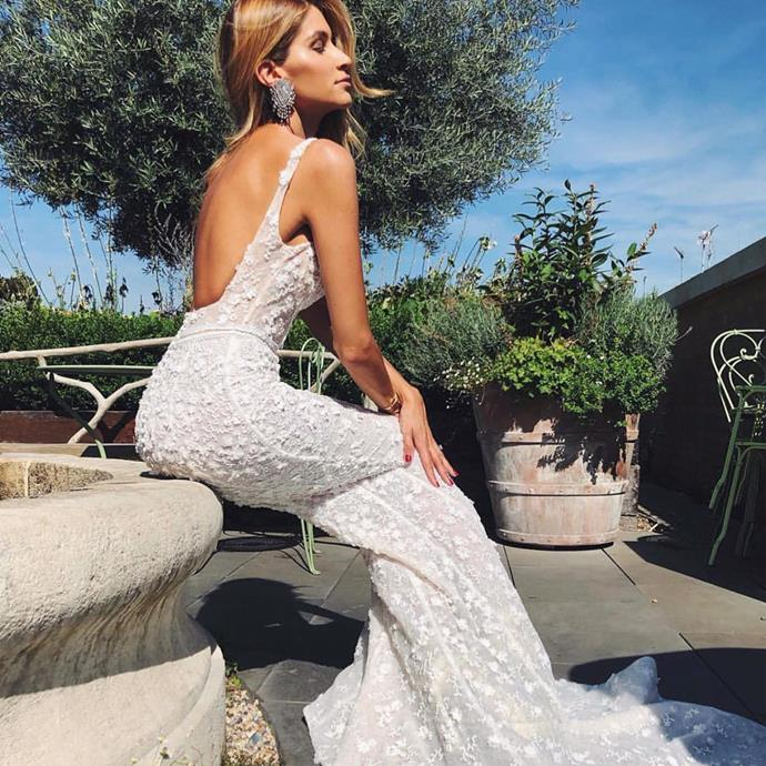 "<strong>Pallas Couture</strong> <br><br> Based in Paddington's Five Ways shopping district in Sydney and in Perth, their collections encompass a modern romantic elegance. <br><br> Instagram: <a href=""https://www.instagram.com/pallascouture/"">@pallascouture</a>"