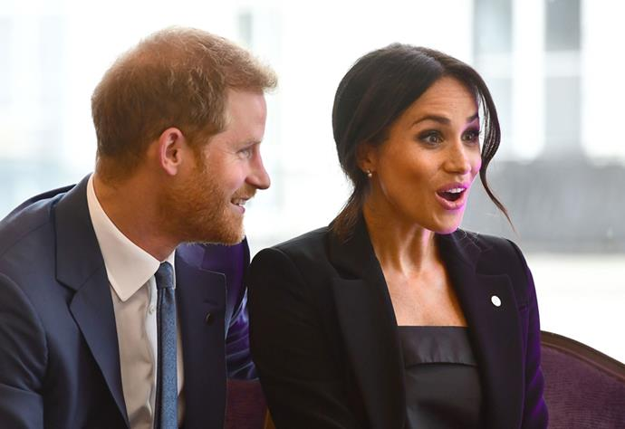 The Duke and Duchess of Sussex at The WellChild Awards in London on September 4, 2018