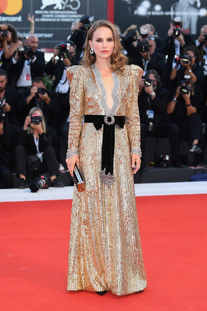 Natalie Portman in Gucci