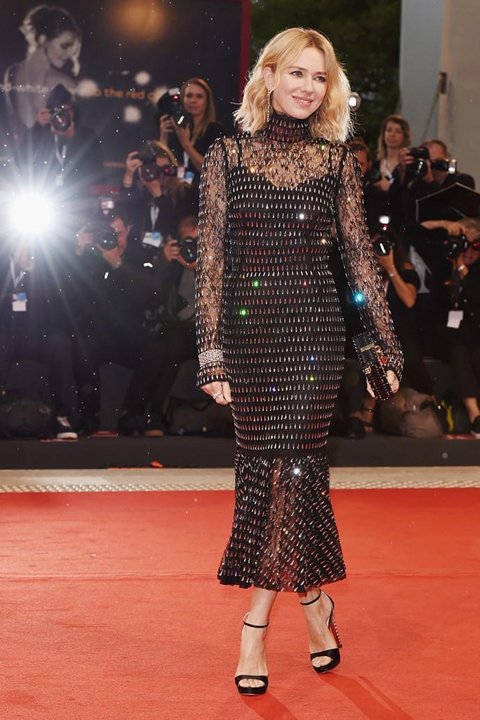 Naomi Watts in Dolce & Gabbana