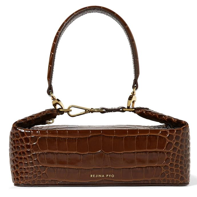 "**Natasha Harding, digital fashion writer**  <br><br> I've been eyeing this little Rejina Pyo crocodile bag for a while, it's the perfect finishing touch to instantly inject some life into my winter wardrobe. <br><br> REJINA PYO Rita croc-effect leather bucket bag, $670, from [Net-A-Porter](https://www.net-a-porter.com/us/en/product/1067967/rejina_pyo/olivia-croc-effect-leather-tote|target=""_blank""