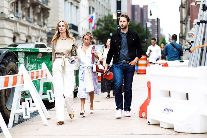 Lauren Santo Domingo and Derek Blasberg <br><br> Image: Jason Lloyd-Evans