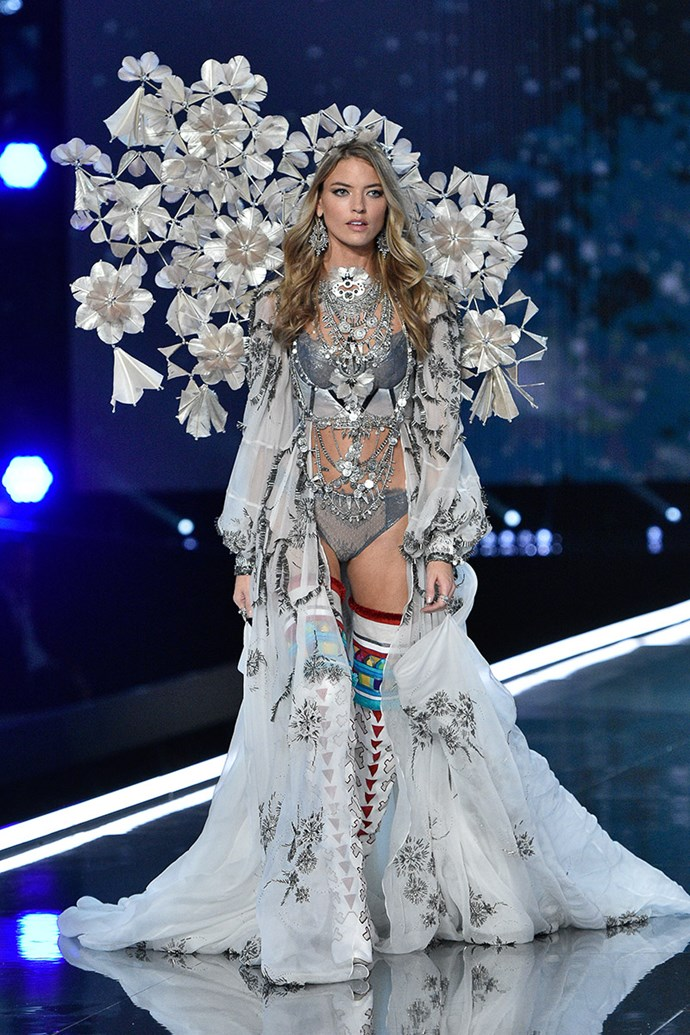 ***Martha Hunt*** <br> Martha Hunt is also a recently promoted Angel, and we wouldn't be surprised if she were awarded the Fantasy Bra for 2018. If picked, Hunt would be the sixth American to wear the Fantasy Bra.