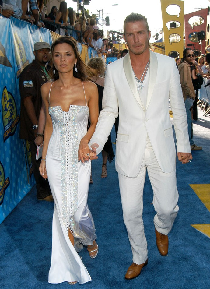 At the *MTV* Movie Awards, 2003