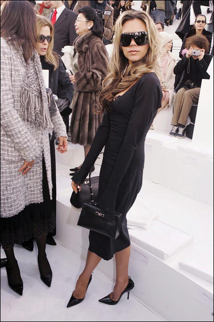 At a Chanel show, 2006