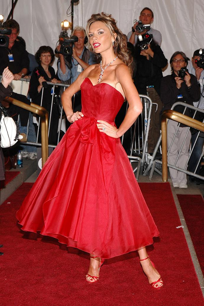 At the Met Gala, 2006