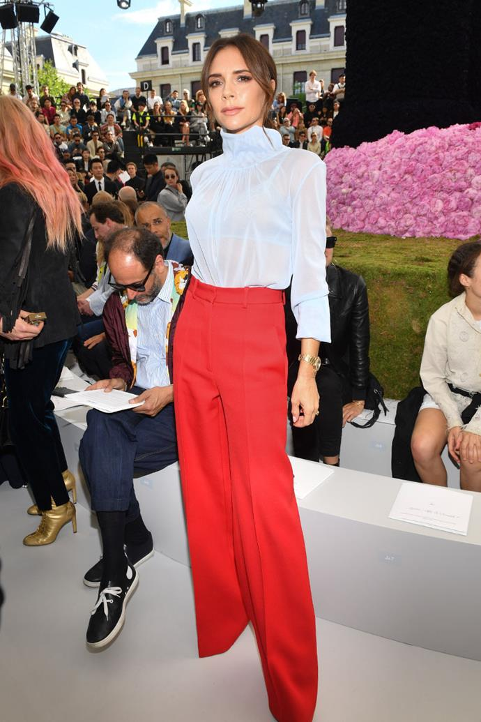 At Dior Menswear spring summer '19, 2018