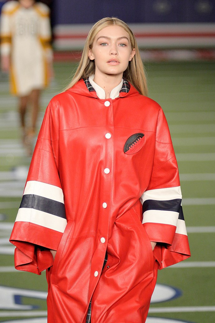 Gigi Hadid at Tommy Hilfiger autumn/winter '15