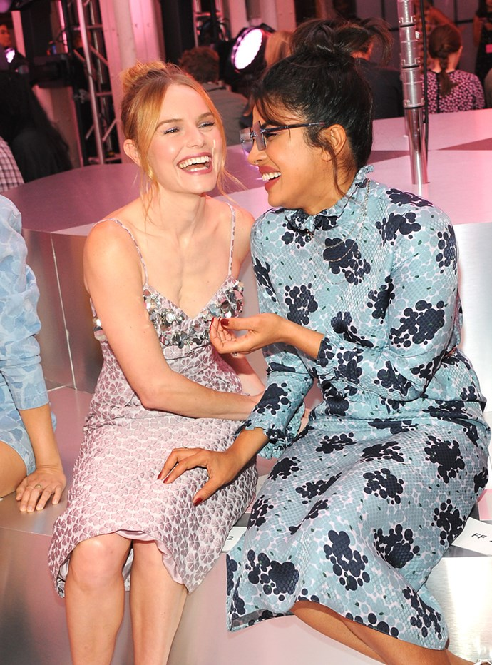 Kate Bosworth and Priyanka Chopra at Kate Spade
