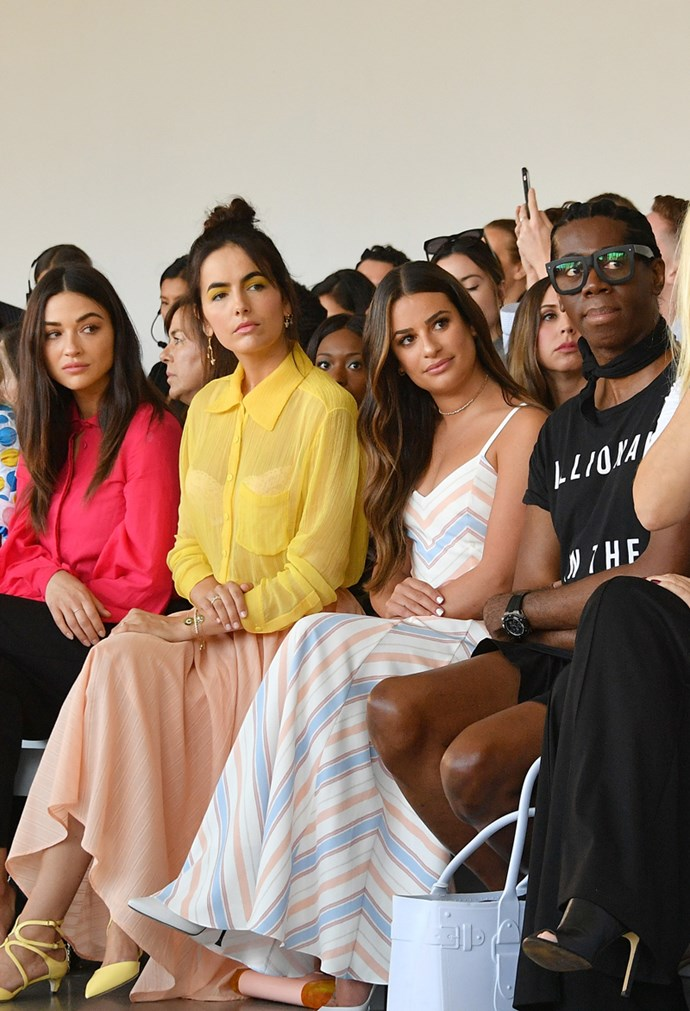 Crystal Reed, Camilla Belle, Lea Michele and Miss J. Alexander at Noon By Noor