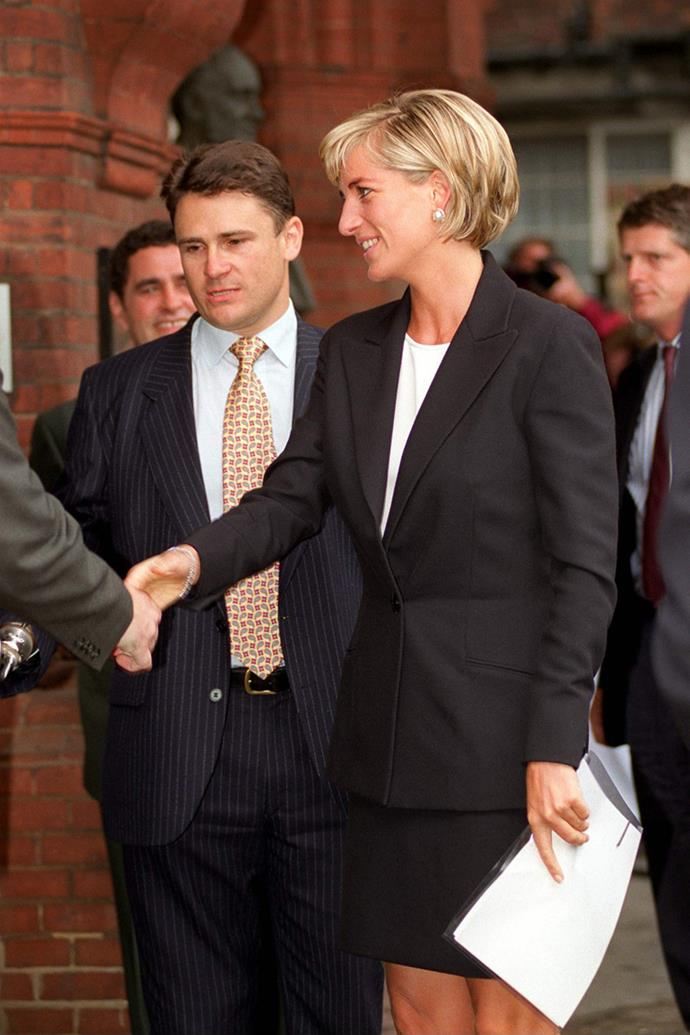 At The Royal Geographical Society in London on June 12, 1997