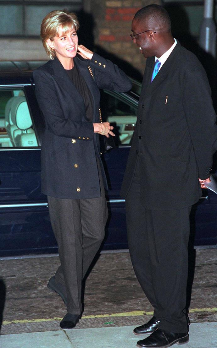 Visiting Centrepoint in Kings Cross on March 10, 1997