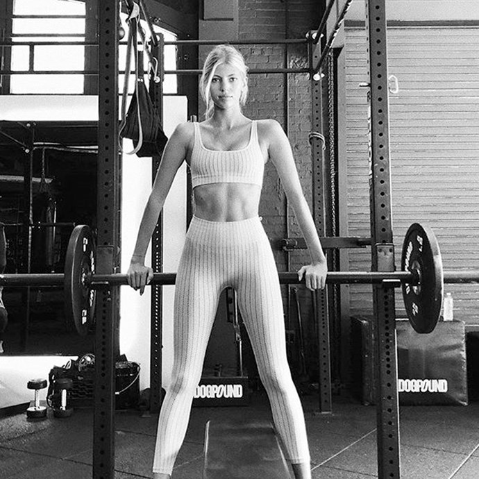 """<strong>Devon Windsor</strong> <br>On exercise: """"For exercise, I am doing a lot of Pilates. I am very tight and not very flexible and so it is a nice balance between stretching and doing exercises,"""" she told <a href=""""http://www.elle.com/news/fashion-style/victorias-secret-show-2014-models-on-diet-exercise-after-parties"""">Elle.com</a>. <br><br>I also just recently got into shadowboxing and jumping rope, which is very high energy. I don't really like to run or do traditional workouts. I find them very boring. I like to mix it up. I did, like, every workout class in New York."""""""