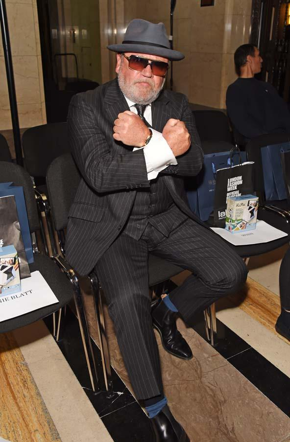 Ray Winstone at Pam Hogg