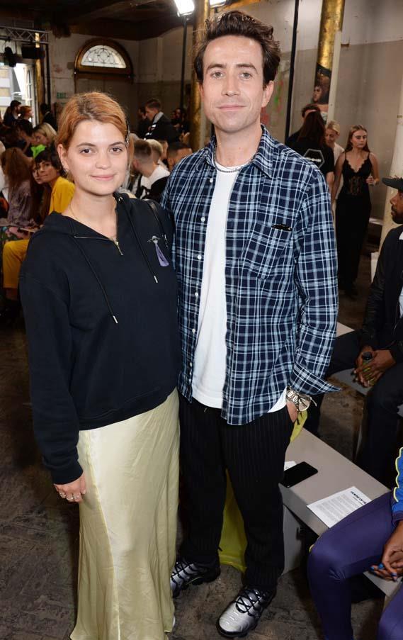 Pixie Geldof and Nick Grimshaw at Henry Holland