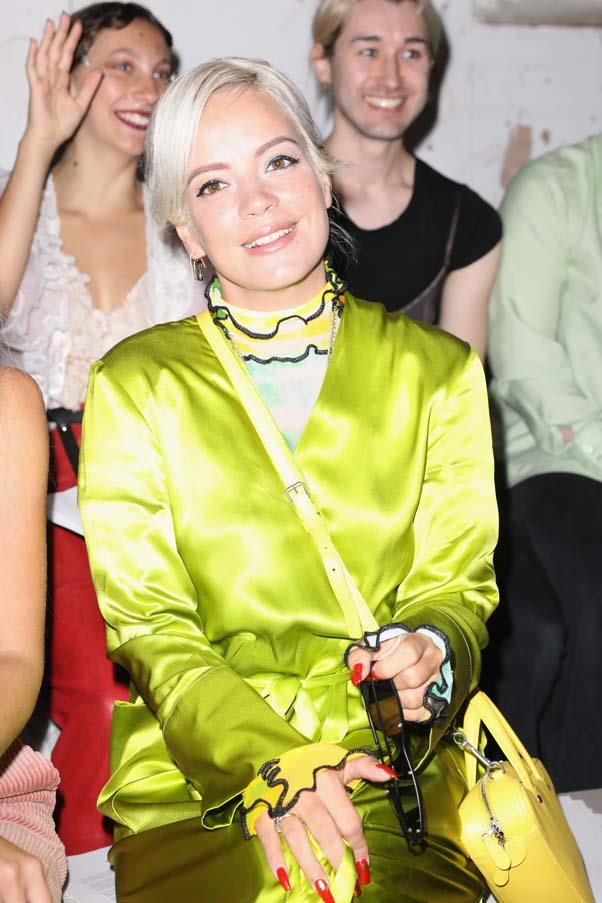 Lily Allen at Fashion East