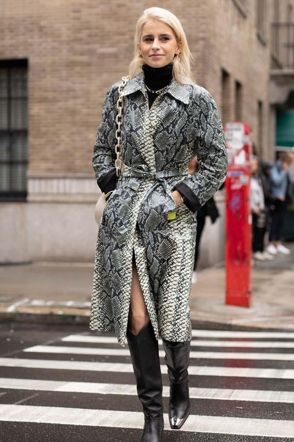 Caroline Daur at New York Fashion Week spring summer '19 <br><br> Image: Getty