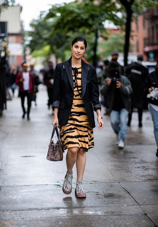 Caroline Issa at New York Fashion Week spring summer '19 <br><br> Image: Getty