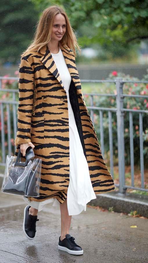 Lauren Santo Domingo at New York Fashion Week spring summer '19 <br><br> Image: Getty
