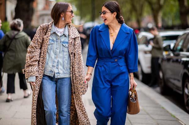 London Fashion Week spring summer '19 <br><br> Image: Getty