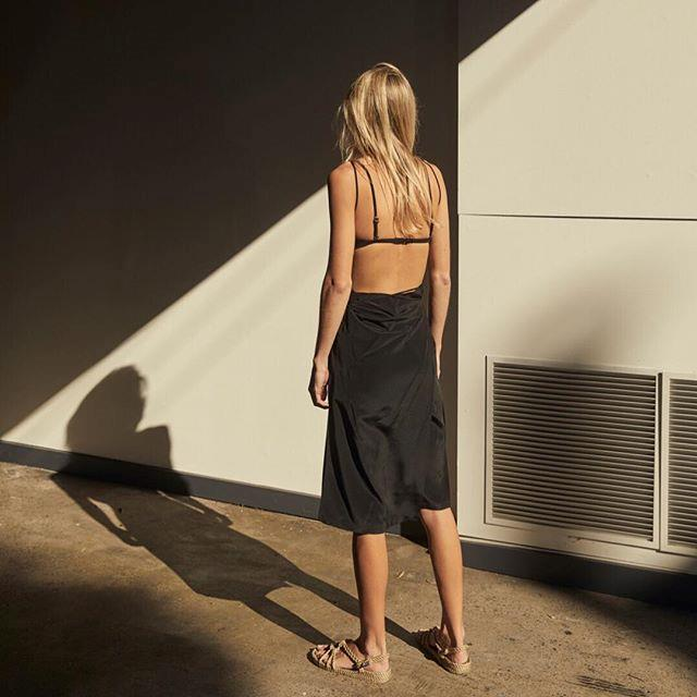 "***Kacey/Devlin*** <br><br> Kacey/Devlin took home the National Design Award in 2017, and for good reason. The label's one-strap silk cami tops are proving to be one of Australian fashion's most enduring trends; and work just as dashingly with either casual or formal attire.  <br><br> *Shop at: [Kacey/Devlin](https://kaceydevlin.com/|target=""_blank"")* <br> *Image: [@kaceydevlin](https://www.instagram.com/p/BjpAB9KgpkR/?taken-by=kaceydevlin