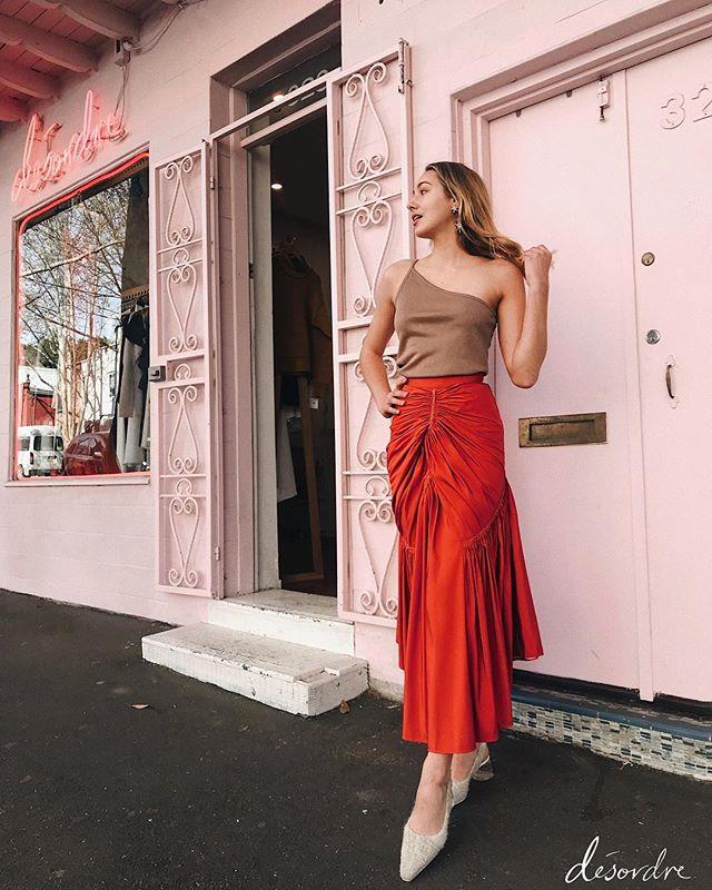 """***Desordré*** <br><br> Pop-up turned permanent, this pocket-sized store is a fashion lovers dream for one-off eclectic pieces. With an Instagram bio that reads """"life is a party, dress for it"""", you better believe Friday night vinos will now include Ajé, Dion Lee and Ellery. <br><br>  Shop here: *[Desordré](https://desordrestore.com/