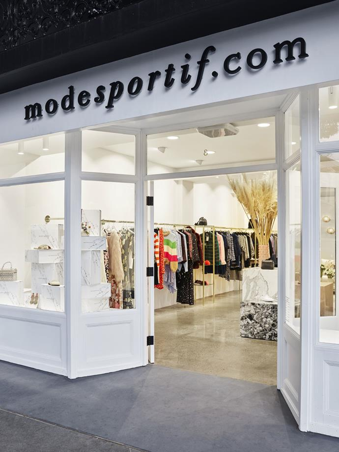 """***Mode Sportif*** <br><br> Sydney's very own hub for all things athleisure, Mode Sportif is a polished blend of workout gear meets resort wear. The Upside, Calvin Klein Performance and Adidas by Stella McCartney—off duty chic sorted. <br><br> Shop here: *[Mode Sportif](https://www.modesportif.com/