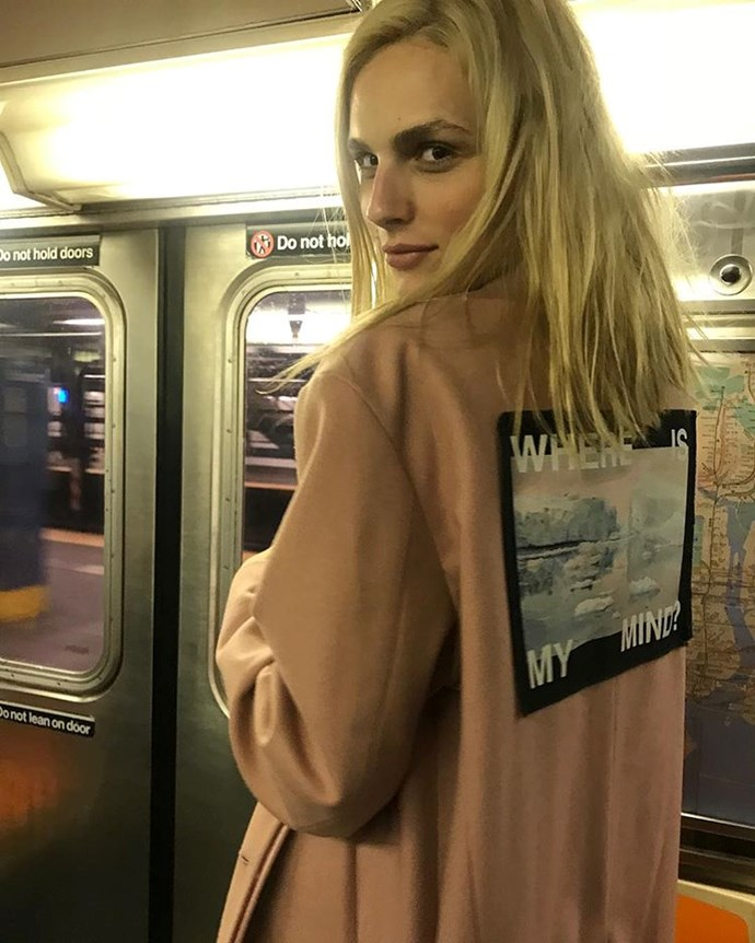 "**9. Anreja Pejic** <br><br> Australian mega-model, actress and trans activist Andeja Pejic is a bonafide digital celebrity with 334,000 followers.  <br><br> Follow: [@andrejapejic](https://www.instagram.com/andrejapejic/|target=""_blank""|rel=""nofollow"")"