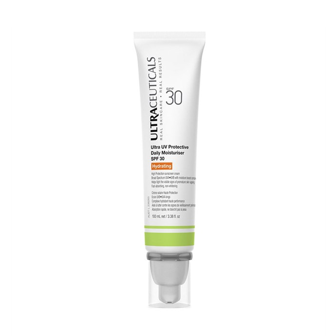 "**TOP-SELLER AT DAVID JONES:** <br>  Ultraceuticals Ultra UV Protective Daily Moisturiser SPF30, $79 at [David Jones](https://www.davidjones.com/Product/20025779/Ultra-UV-Protective-Daily-Moisturiser-SPF30-Hydrating|target=""_blank""