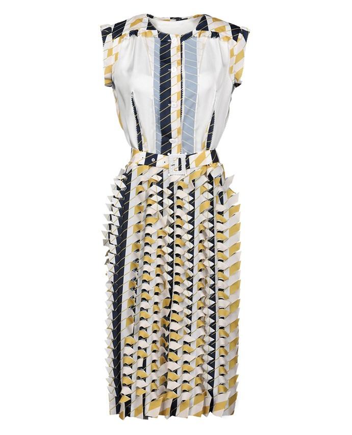 "Maison Margiela dress, approx $3,462.66 at [YOOX](https://www.yoox.com/au/34891323OA/item#dept=clothingwomenna&sts=sr_clothingwomenna80&cod10=34891323OA&sizeId=&sizeName=&tp=171240&utm_campaign=SpringRacing_HBOct18&utm_source=HarpersBazaar_AU&utm_medium=vertical&utm_content=SpringRacing_HBOct18|target=""_blank""|rel=""nofollow"")"