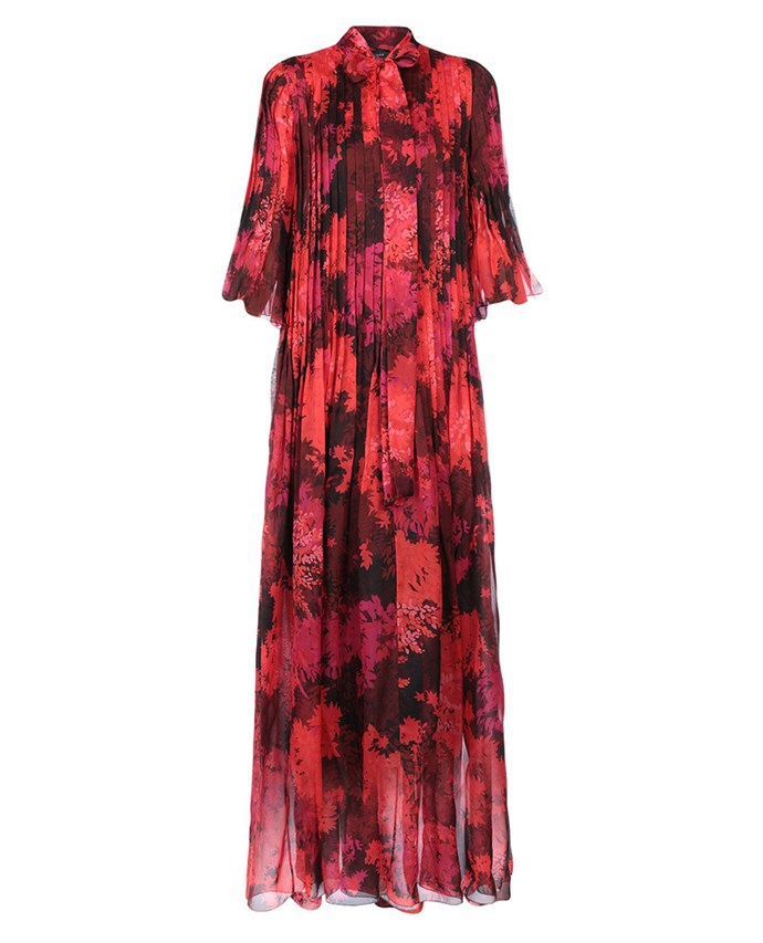 "Rochas dress, approx. $2,210.15 at [YOOX](https://www.yoox.com/au/34874089CS/item#dept=clothingwomenna&sts=sr_clothingwomenna80&cod10=34874089CS&sizeId=&sizeName=&tp=171240&utm_campaign=SpringRacing_HBOct18&utm_source=HarpersBazaar_AU&utm_medium=vertical&utm_content=SpringRacing_HBOct18|target=""_blank""|rel=""nofollow"")"