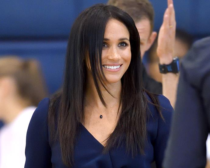 Meghan, Duchess of Sussex at the Coach Core Awards yesterday.