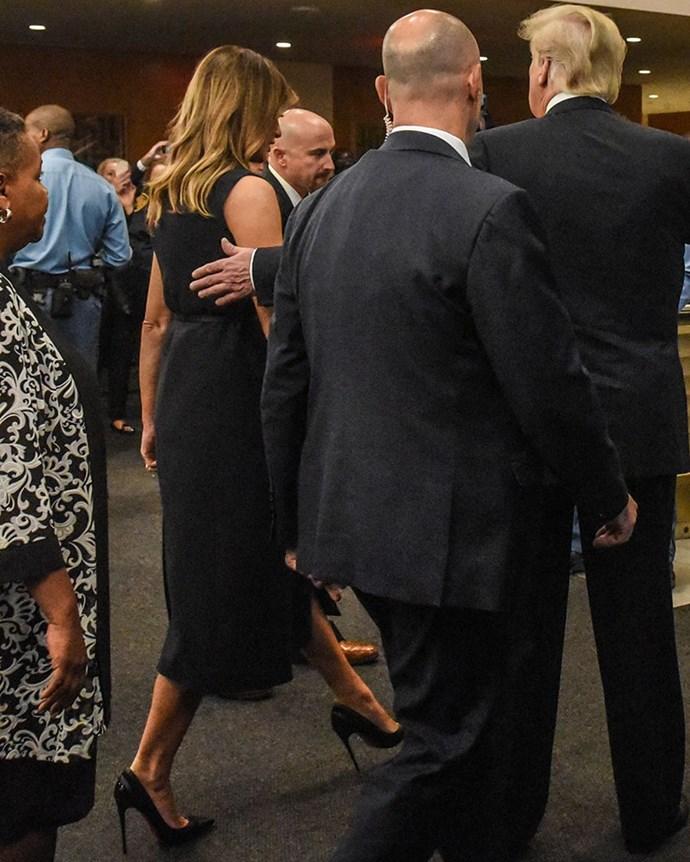 Melania Trump at the United Nations, September 24 2018