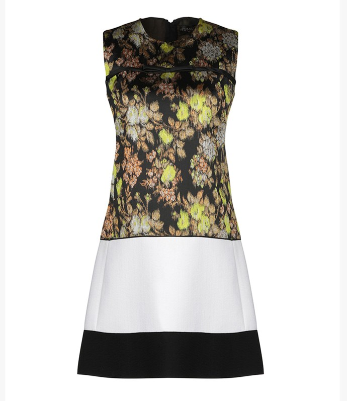 "Giambattista Valli dress, approx. $1720.94 at [YOOX](https://www.yoox.com/au/34884249ML/item#dept=clothingwomenna&sts=sr_clothingwomenna80&cod10=34884249ML&sizeId=3&sizeName=8&tp=171240&utm_campaign=SpringRacing_HBOct18&utm_source=HarpersBazaar_AU&utm_medium=vertical&utm_content=SpringRacing_HBOct18|target=""_blank""