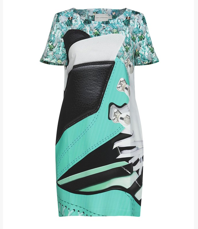 "Mary Katrantzou dress, approx. $894.67 at [YOOX](https://www.yoox.com/au/34887191BR/item#dept=clothingwomenna&sts=sr_clothingwomenna80&cod10=34887191BR&sizeId=4&sizeName=10&tp=171240&utm_campaign=SpringRacing_HBOct18&utm_source=HarpersBazaar_AU&utm_medium=vertical&utm_content=SpringRacing_HBOct18|target=""_blank""
