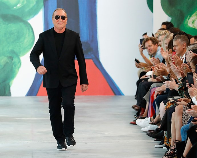 "**8. Michael Kors** <br><br> While Kors is known for his affordable accessories and leatherware, his high-fashion talent make his [Michael Kors Collection](https://www.harpersbazaar.com.au/fashion/michael-kors-autumn-winter-2018-15795|target=""_blank"") shows some of the most anticipated at New York Fashion Week. With the designer's company recently [acquiring Versace](https://www.smh.com.au/business/companies/versace-fans-smear-michael-kors-as-tackiest-man-alive-following-brand-s-sale-20180926-p505zu.html