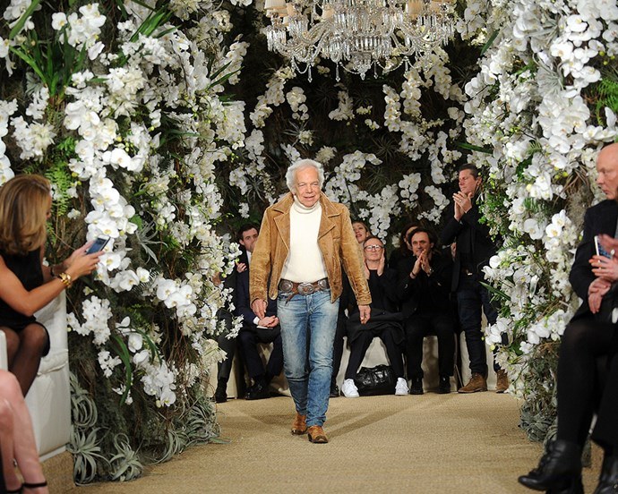 **3. Ralph Lauren** <br><br> As one of the world's most recognisable labels, Ralph Lauren has helmed his iconic American label for over fifty years—with collections spanning between couture, casualwear, and fragrance.  <br><br> ***Net worth: $11.2 billion AUD***