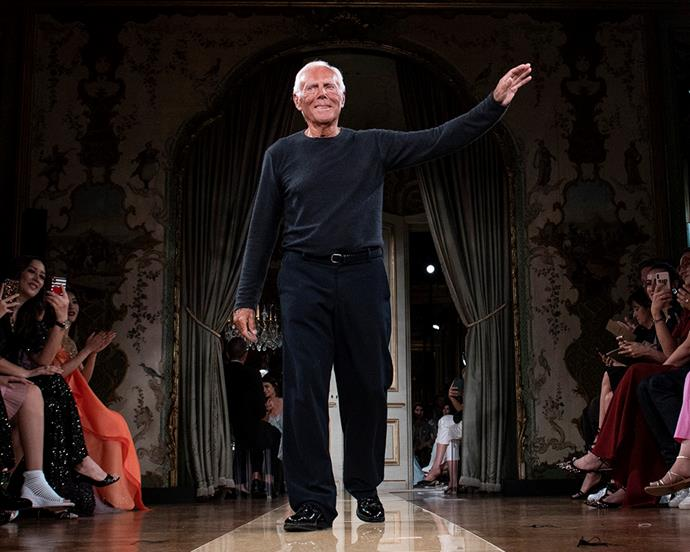 **2. Giorgio Armani** <br><br> Armani's $12.4 billion fortune is a testament to his multiple different labels—with Giorgio Armani, Emporio Armani and Armani Jeans all working together to further the Armani monopoly. Armani's Privé couture line specialises in the best of Italian couture, and counts celebrity fans like Cate Blanchett, Anne Hathaway, Uma Thurman and more.  <br><br> ***Net worth: $12.4 billion AUD***