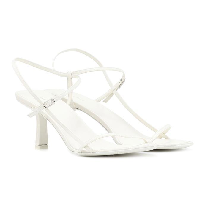 "**THE ROW MINIMAL SANDALS** <br><br> The Row Bare leather sandals, $1,095 at [MyTheresa](https://www.mytheresa.com/en-au/the-row-bare-leather-sandals-1011232.html?gclid=Cj0KCQjwrszdBRDWARIsAEEYhrfrdxvHxDCUl5rHNmUr6w-__MhplIUqm8lgA0chCpgd34atIP0Cjv0aAqWIEALw_wcB&ef_id=WhU2DAAAAHf8JSPY:20181002082718:s|target=""_blank""|rel=""nofollow"")"