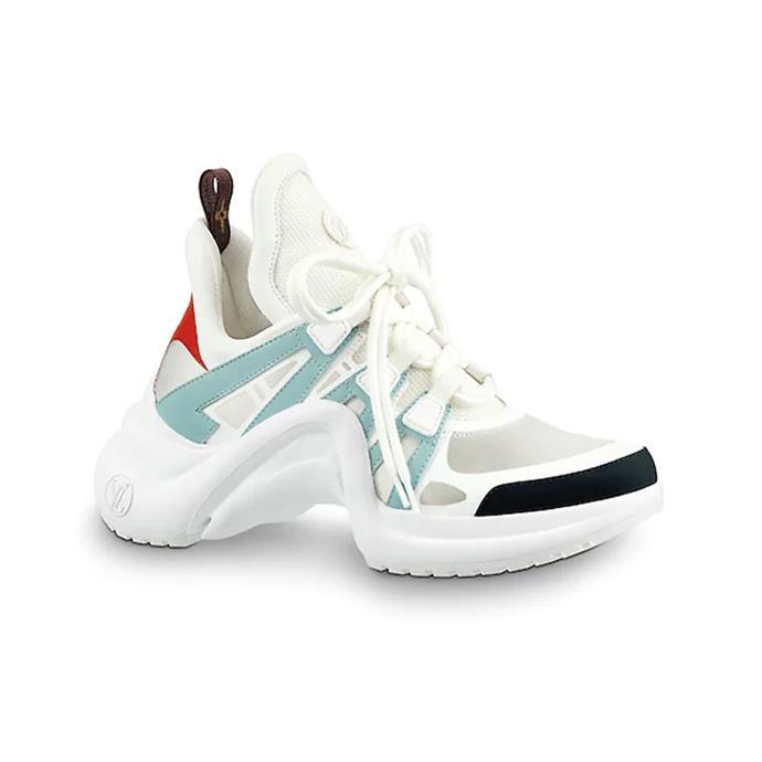 "**LOUIS VUITTON 'DAD' SNEAKERS** <br><br> Louis Vuitton Archlight Sneaker, $1450 at [Louis Vuitton](https://au.louisvuitton.com/eng-au/products/lv-archlight-sneaker-nvprod810018v target=""_blank"" rel=""nofollow"")"