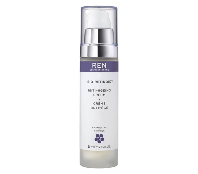 "REN Clean Skincare Bio Retinoid Anti Ageing Cream, $89 at [Mecca](https://www.mecca.com.au/ren-clean-skincare/bio-retinoid-anti-ageing-cream/I-015993.html|target=""_blank""|rel=""nofollow"")"