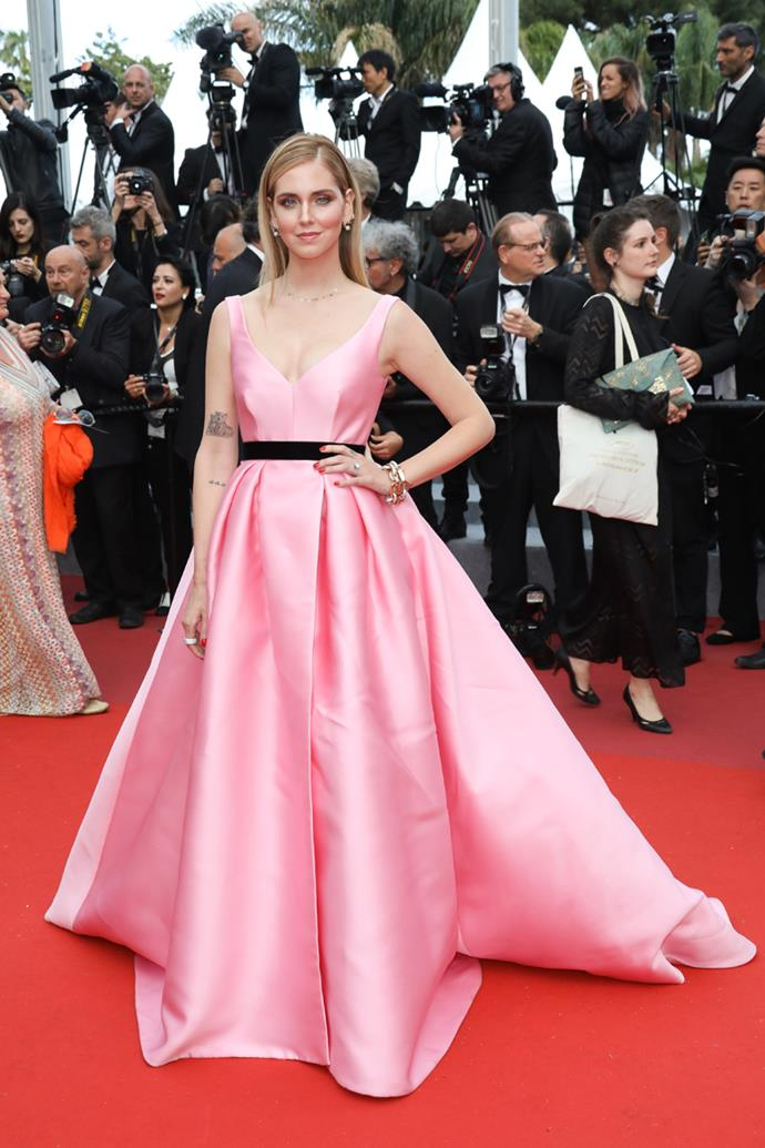 At the 71st Cannes Film Festival on May 13, 2018